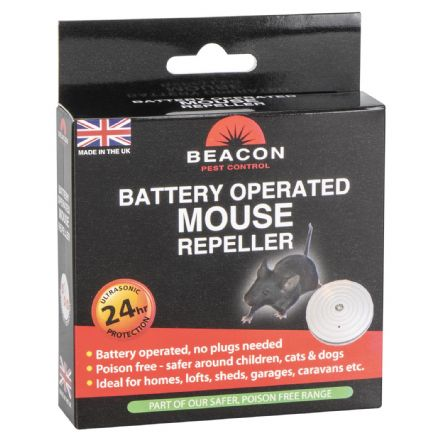 Battery operated mouse repeller